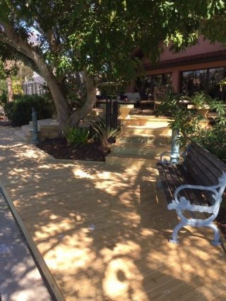 Custom wood deck, Bird Key Sarasota FL Crowe-Building.com